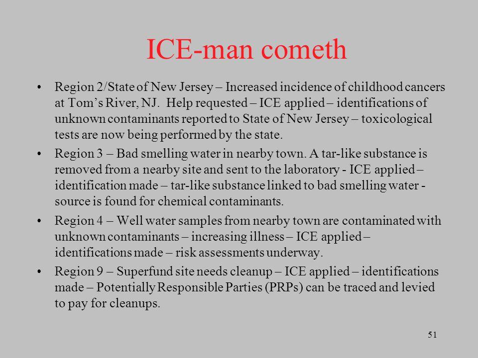 ICE-man cometh