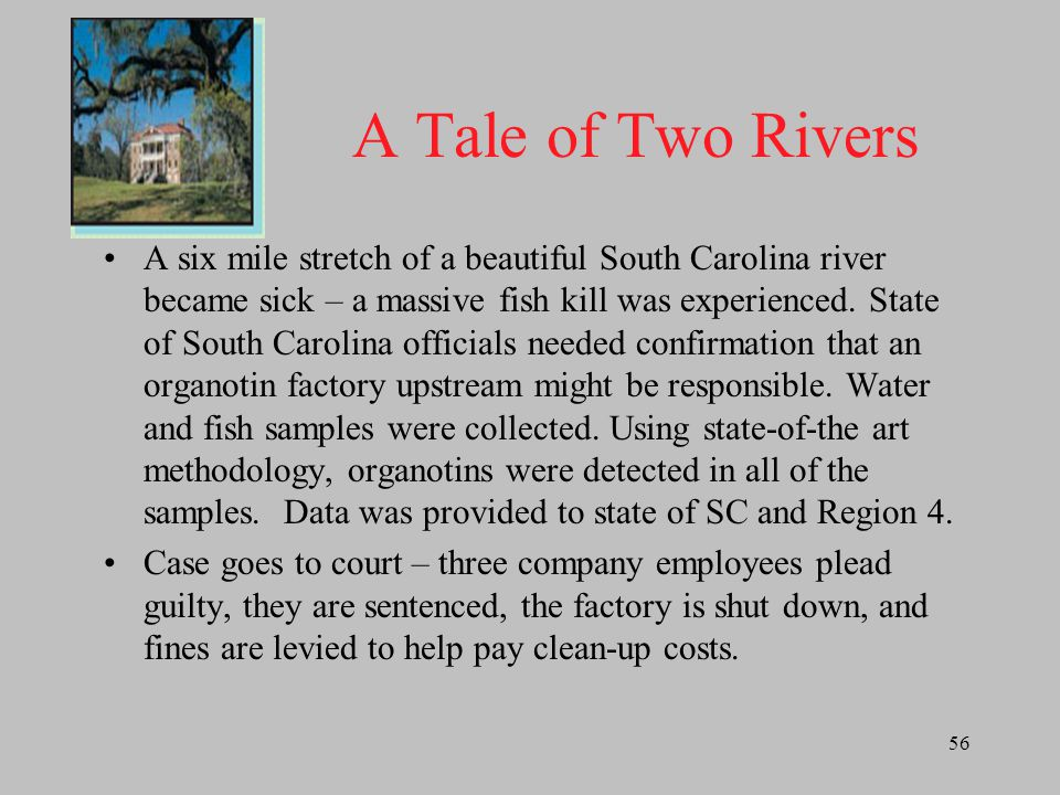 A Tale of Two Rivers