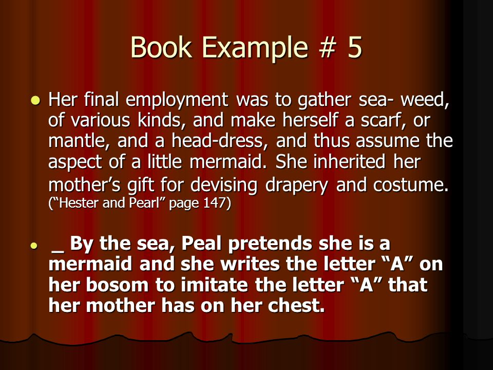 Book Example # 5
