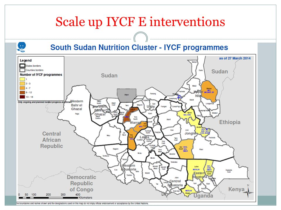 Scale up IYCF E interventions