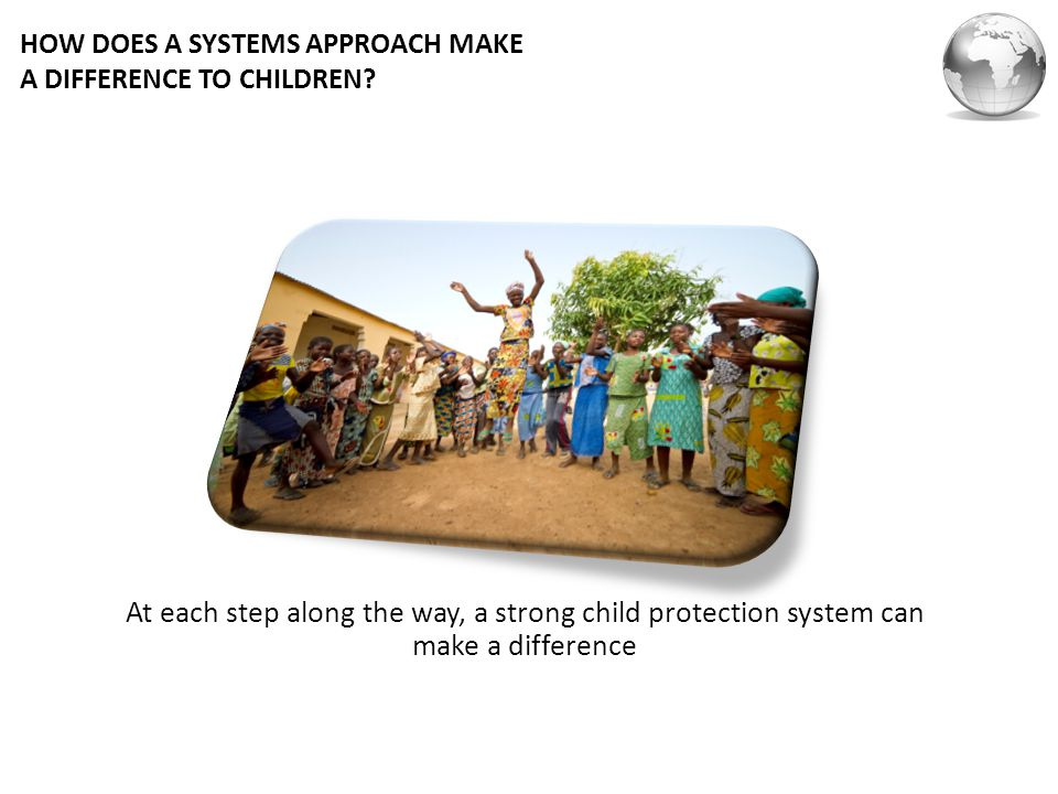 HOW DOES A SYSTEMS APPROACH MAKE