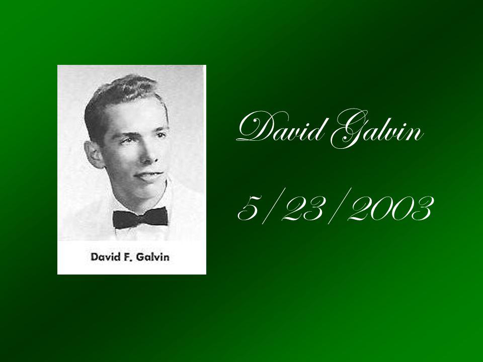 David Galvin 5/23/2003
