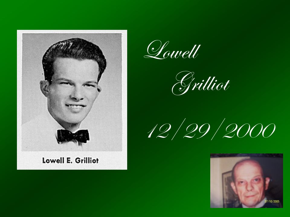 Lowell Grilliot 12/29/2000