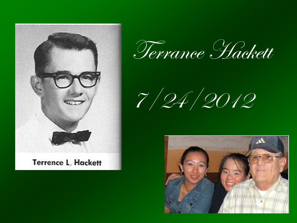 Terrance Hackett 7/24/2012