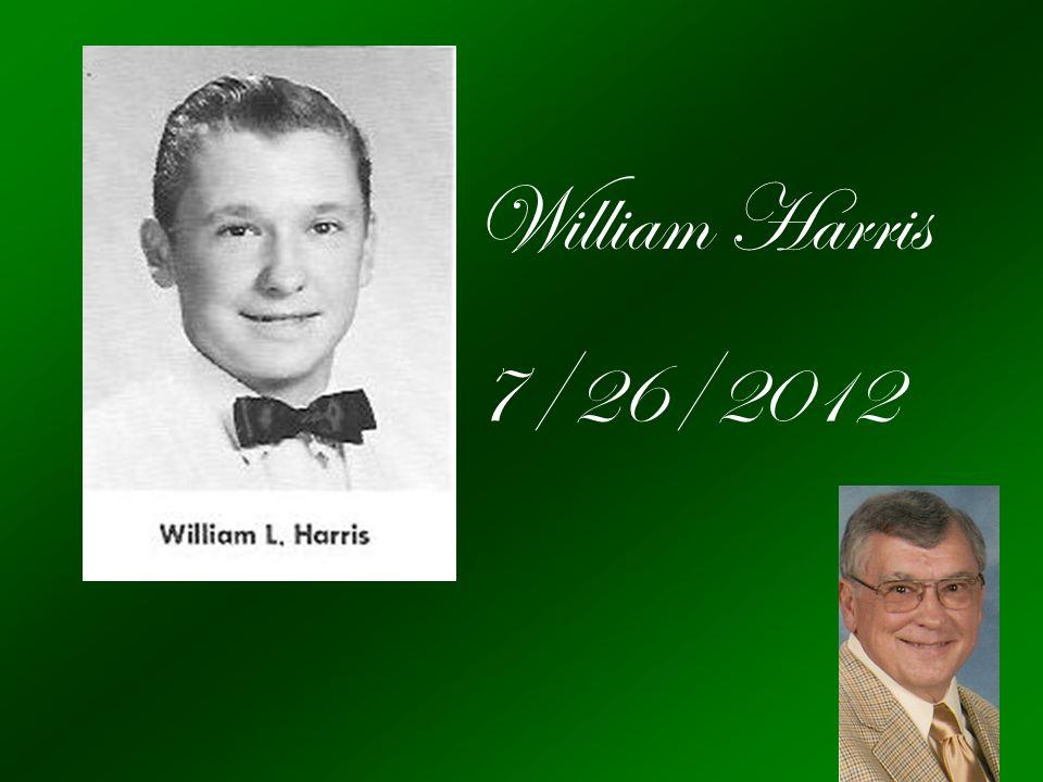 William Harris 7/26/2012
