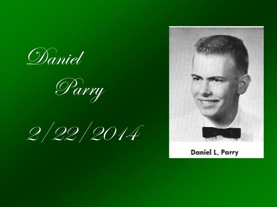Daniel Parry 2/22/2014