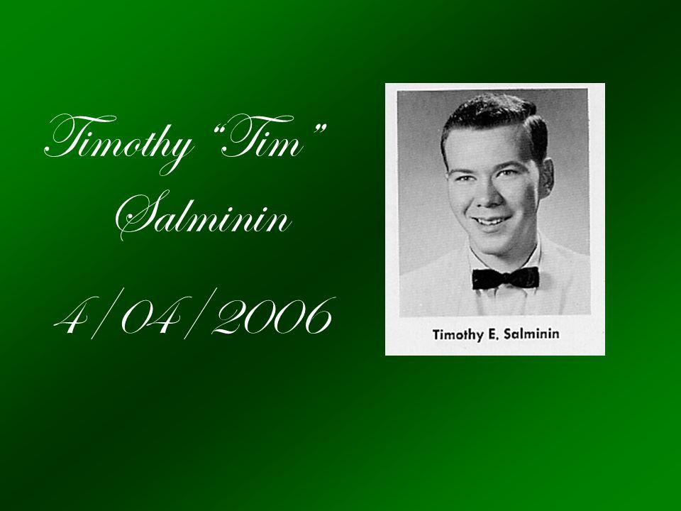 Timothy Tim Salminin