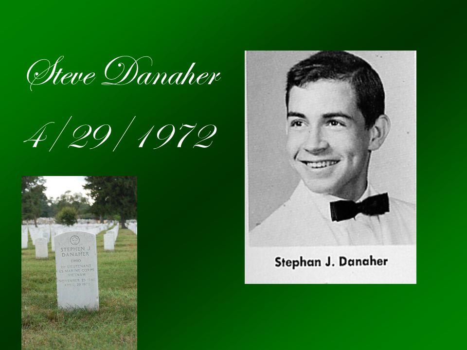 Steve Danaher 4/29/1972