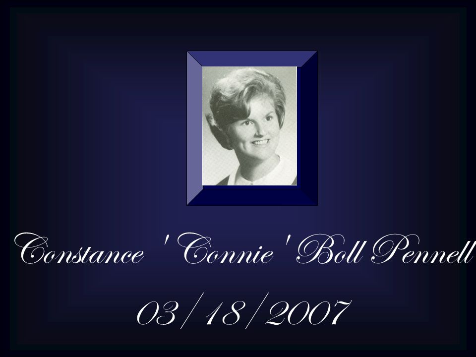 Constance Connie Boll Pennell