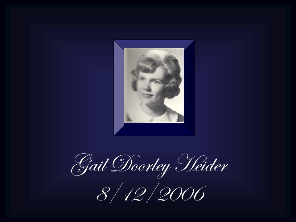 Gail Doorley Heider 8/12/2006