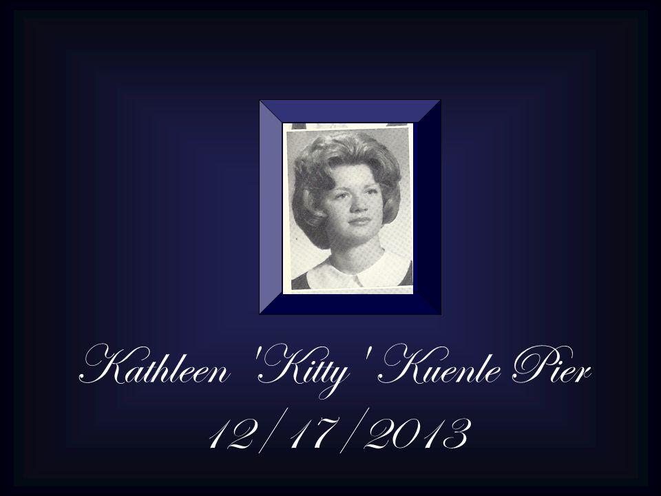 Kathleen Kitty Kuenle Pier 12/17/2013