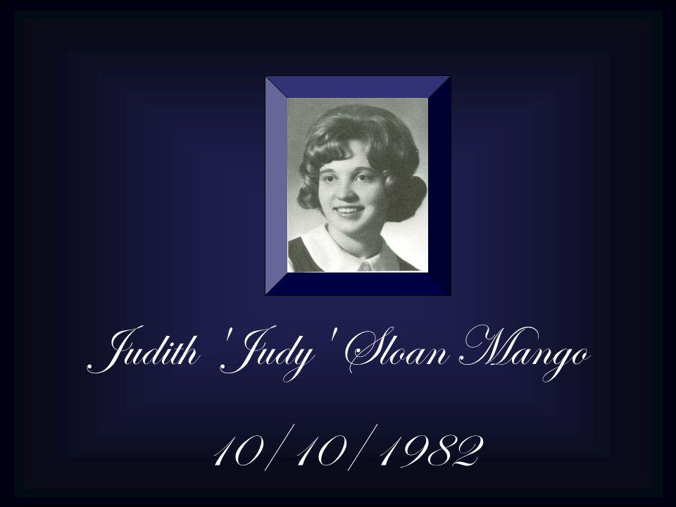 Judith Judy Sloan Mango