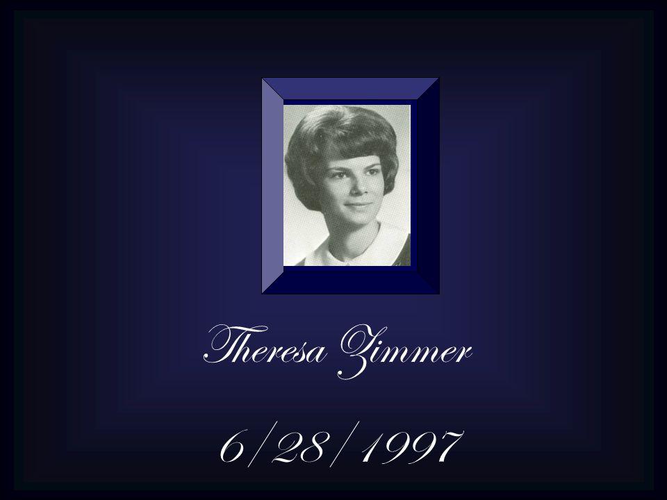Theresa Zimmer 6/28/1997