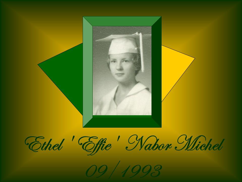 Ethel Effie Nabor Michel 09/1993
