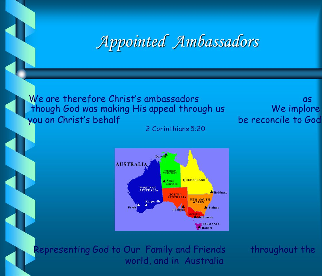 Appointed Ambassadors