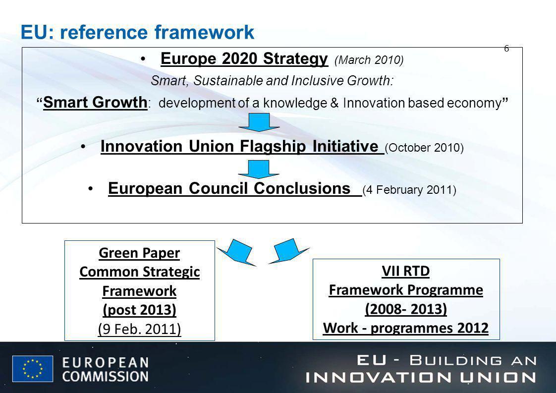 EU: reference framework
