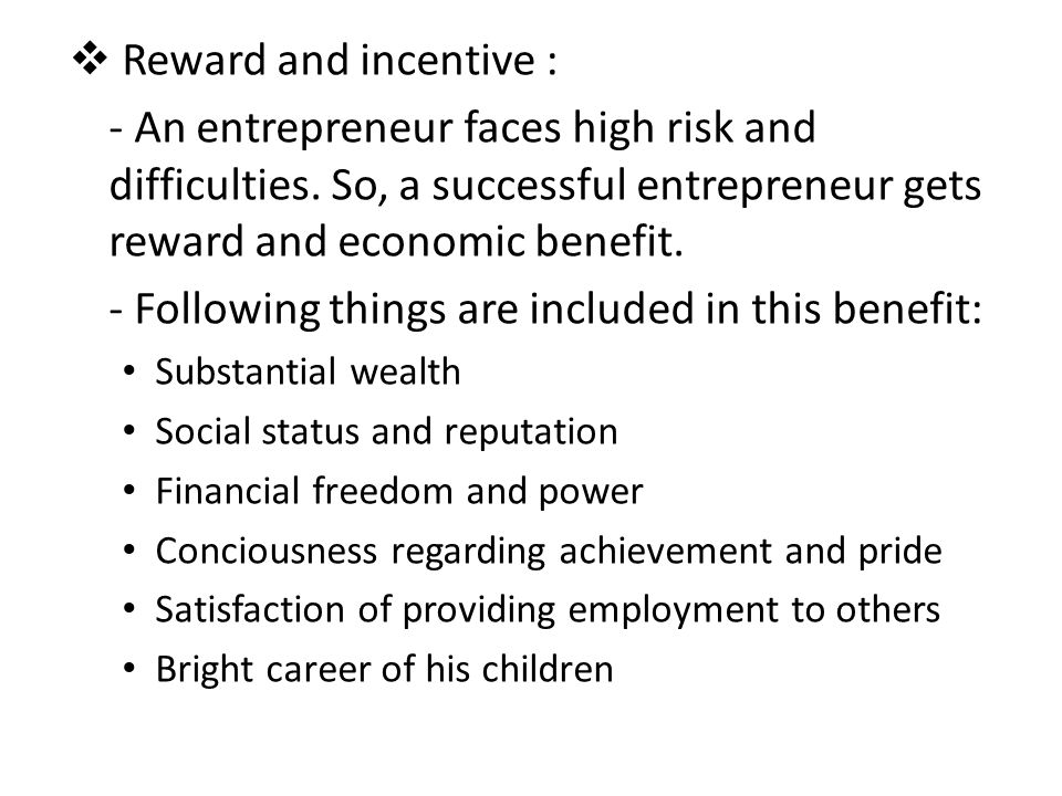 - Following things are included in this benefit: