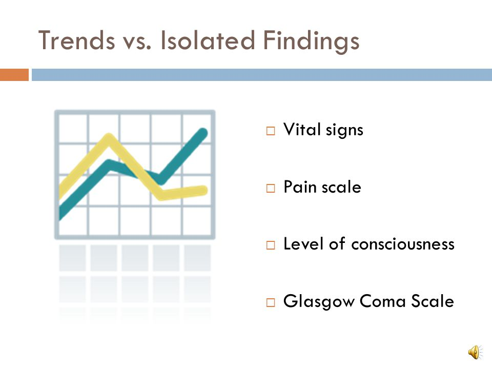 Trends vs. Isolated Findings