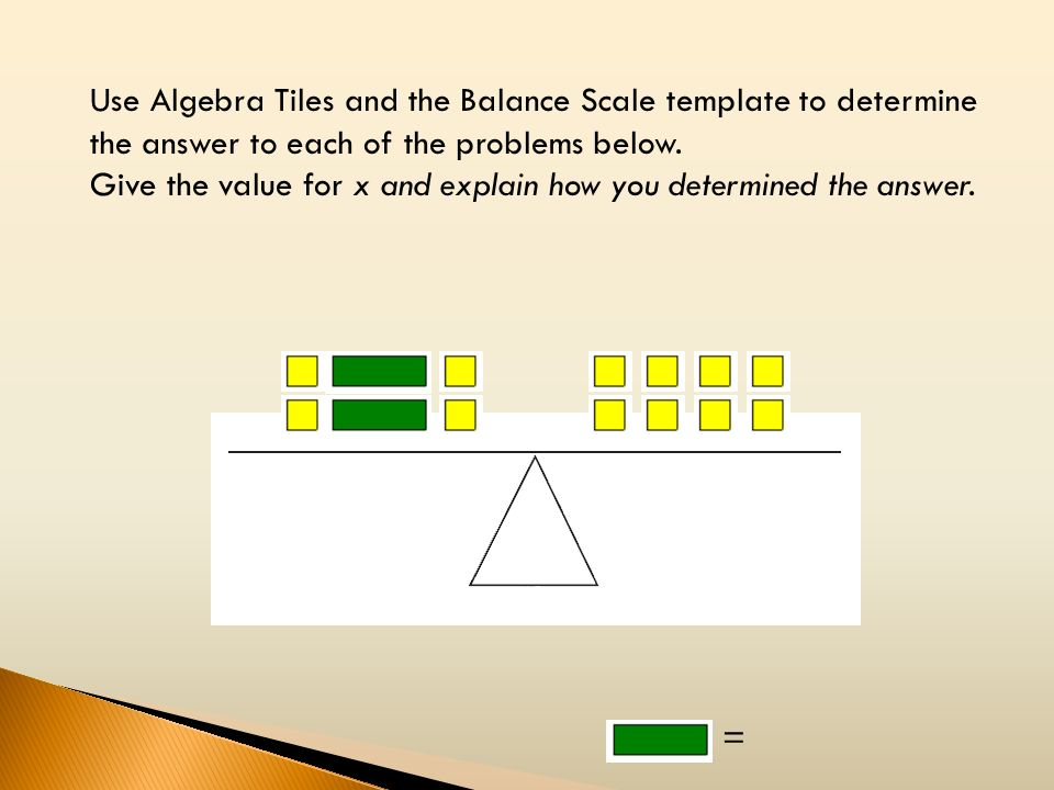 Working with algebra tiles part ii ppt video online download for Algebra tile template