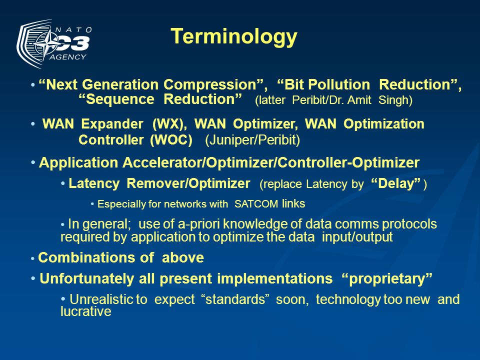 Terminology Application Accelerator/Optimizer/Controller-Optimizer