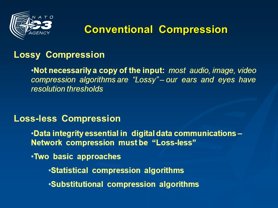 Conventional Compression