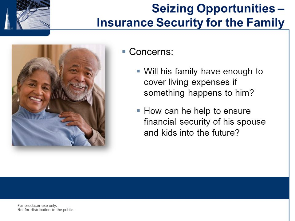 Seizing Opportunities – Insurance Security for the Family