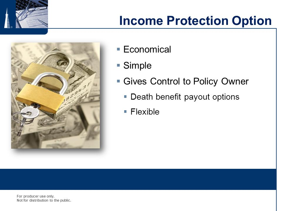 Income Protection Option