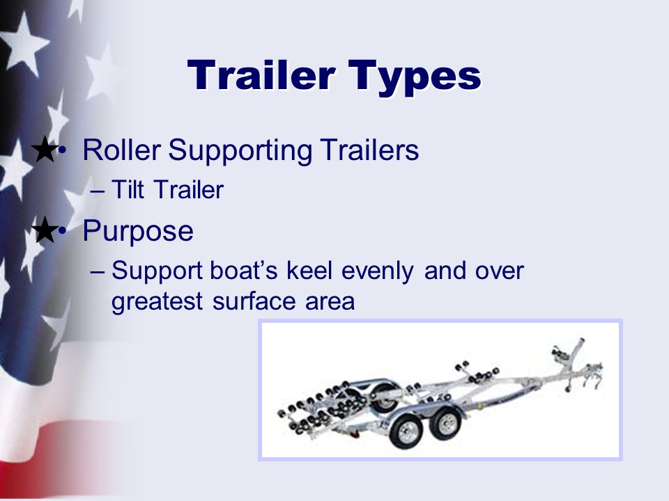Trailer Types Roller Supporting Trailers Purpose Tilt Trailer