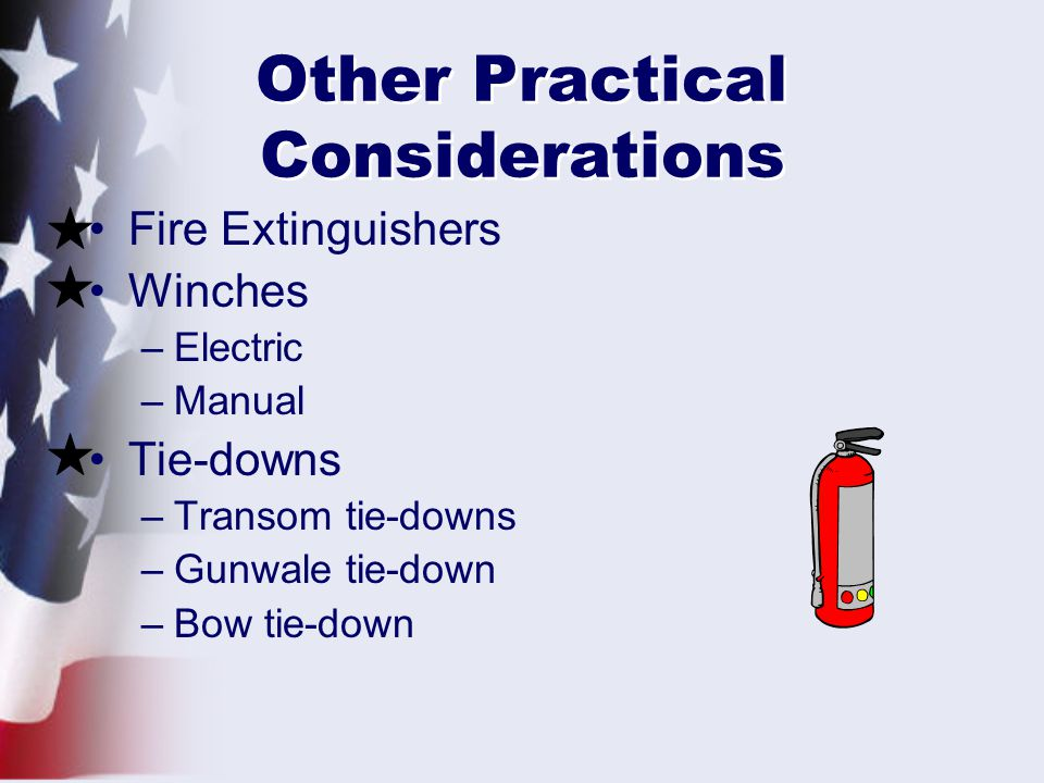 Other Practical Considerations