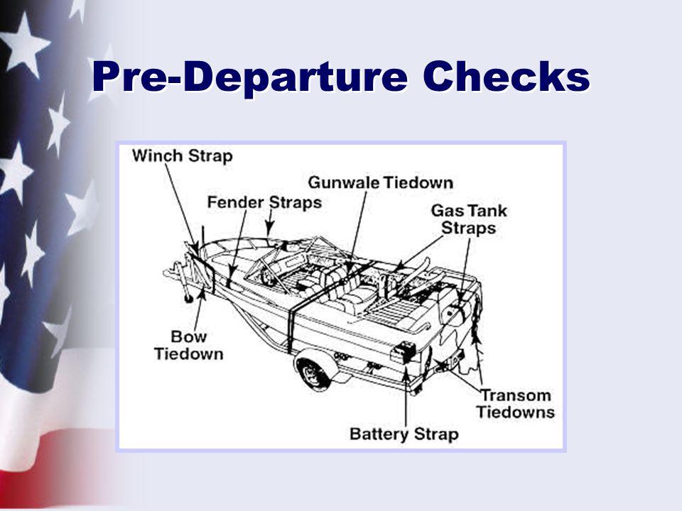 Pre-Departure Checks