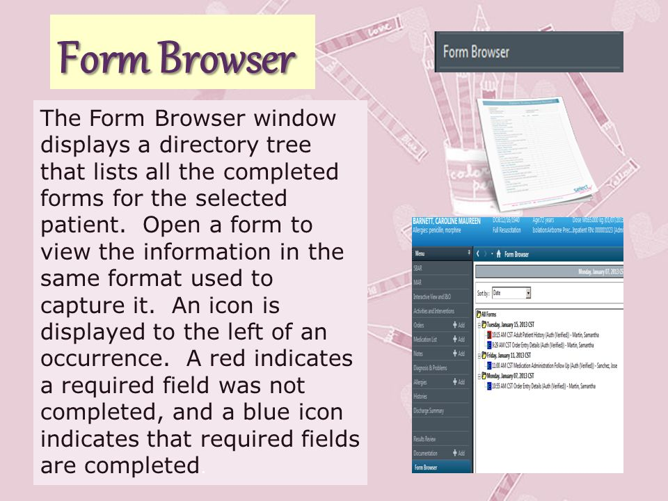 Form Browser