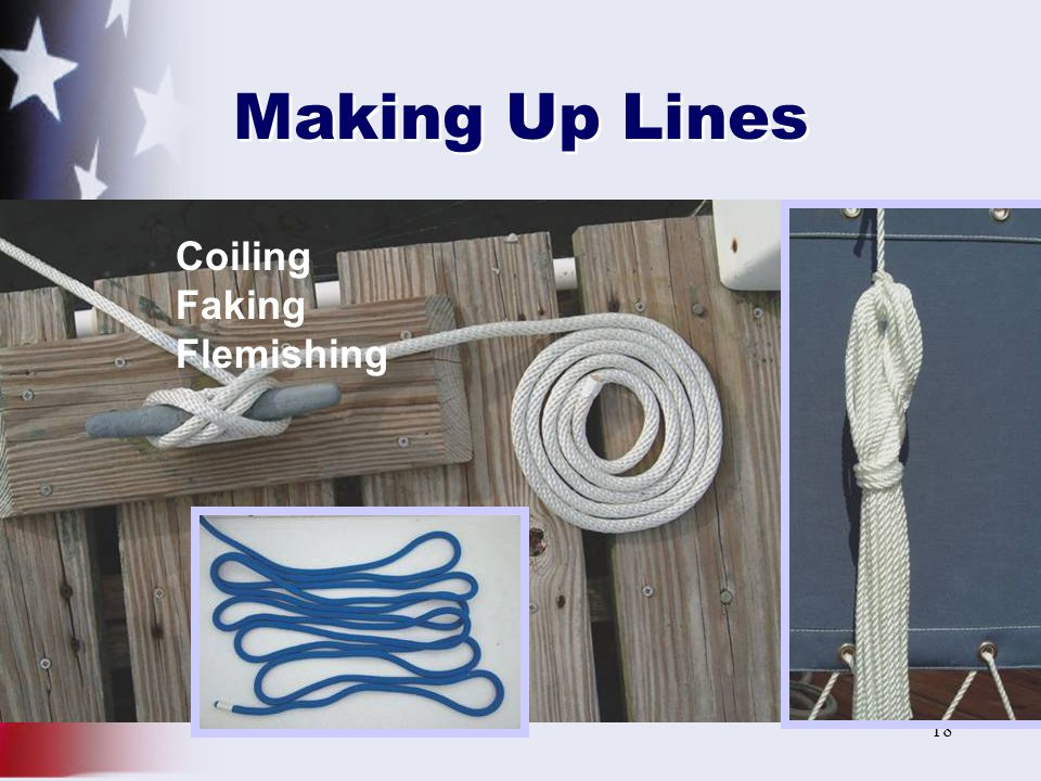 Making Up Lines Faking Flemishing Coiling