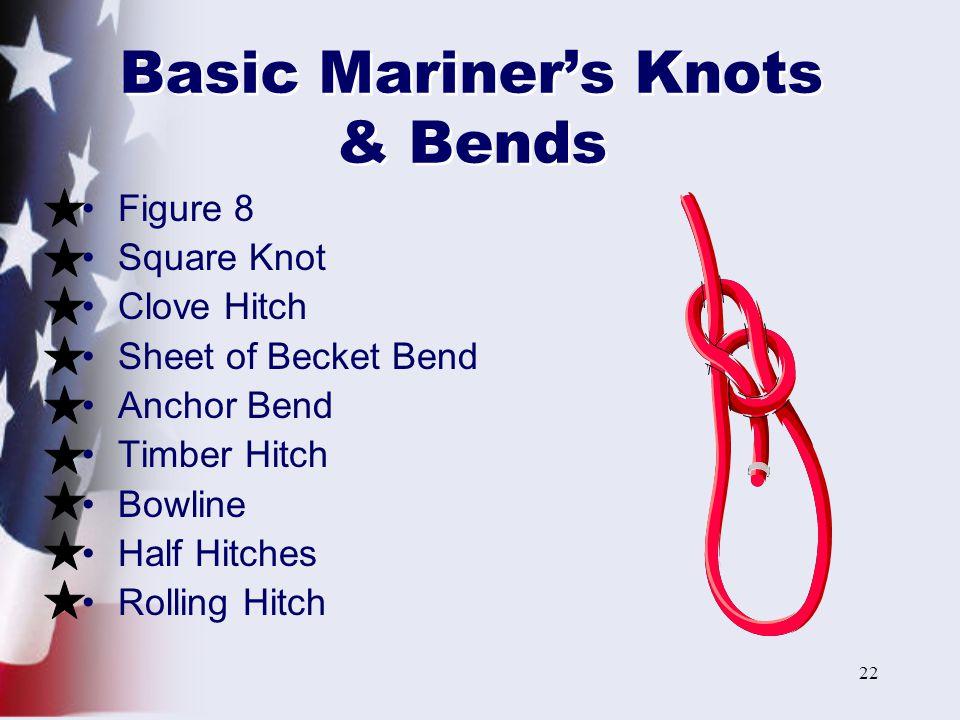 Basic Mariner's Knots & Bends