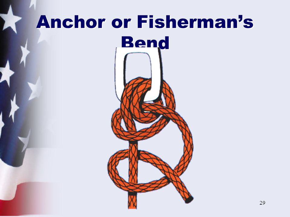 Anchor or Fisherman's Bend