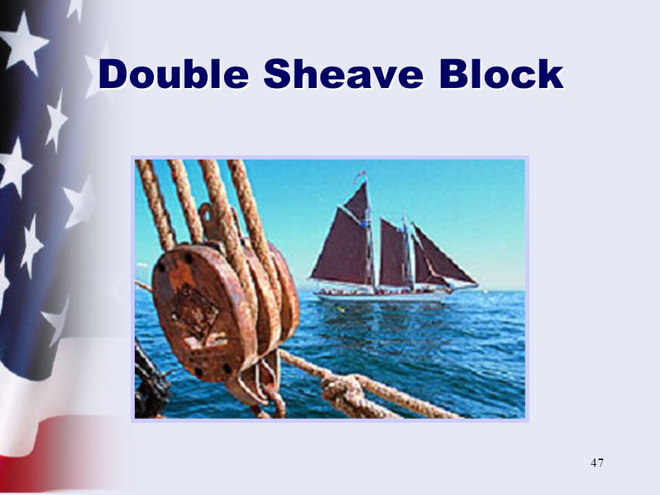 Double Sheave Block