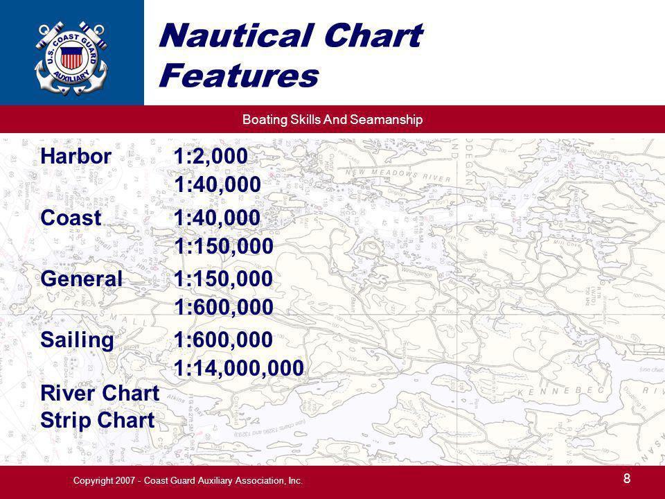 Nautical Chart Features