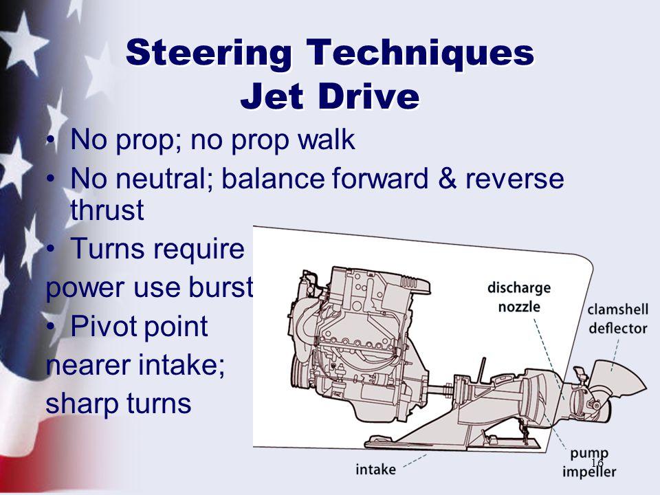 Steering Techniques Jet Drive