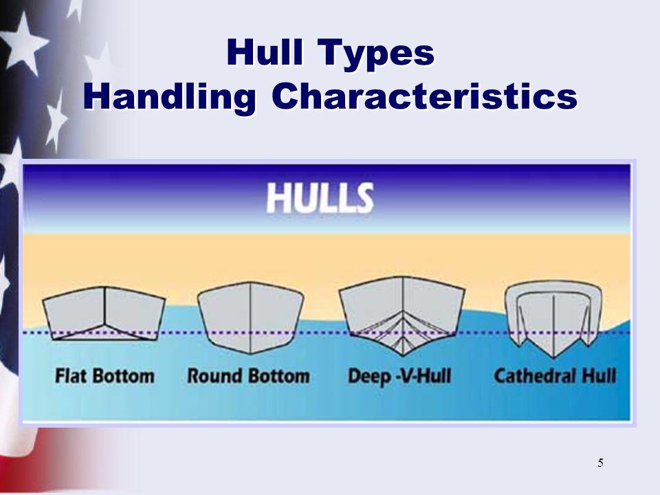 Hull Types Handling Characteristics