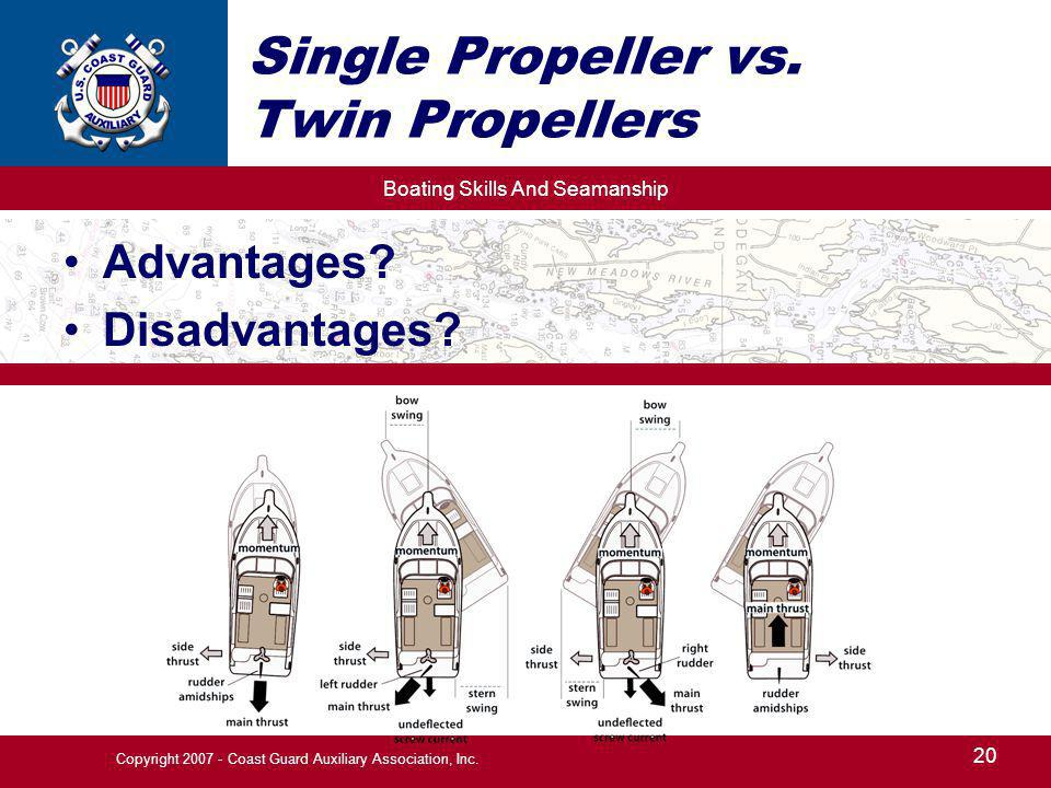 Single Propeller vs. Twin Propellers