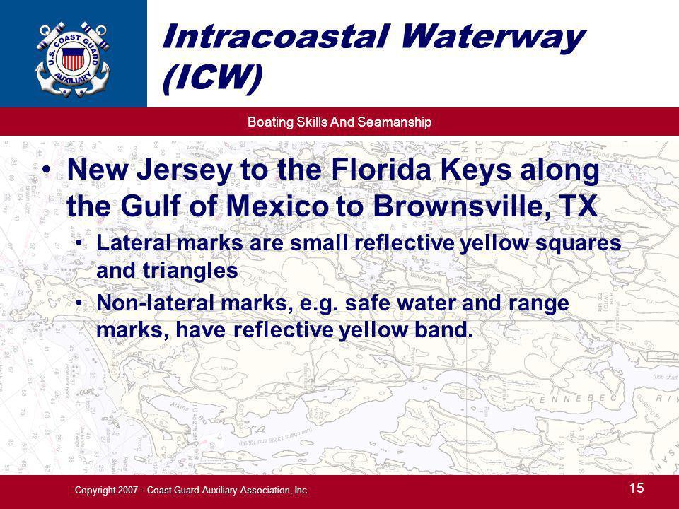 Intracoastal Waterway (ICW)