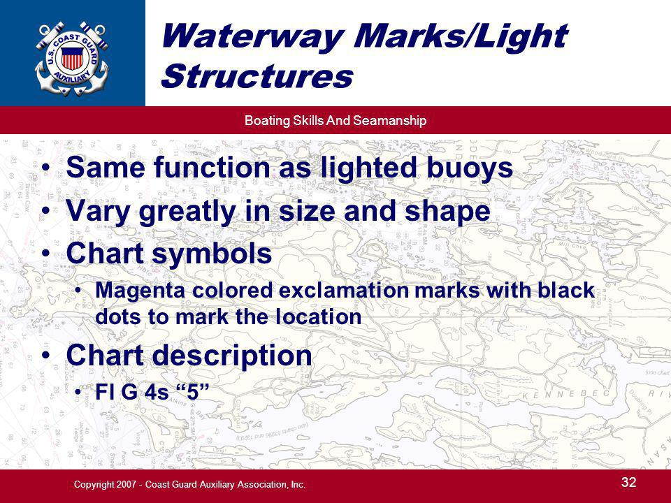 Waterway Marks/Light Structures