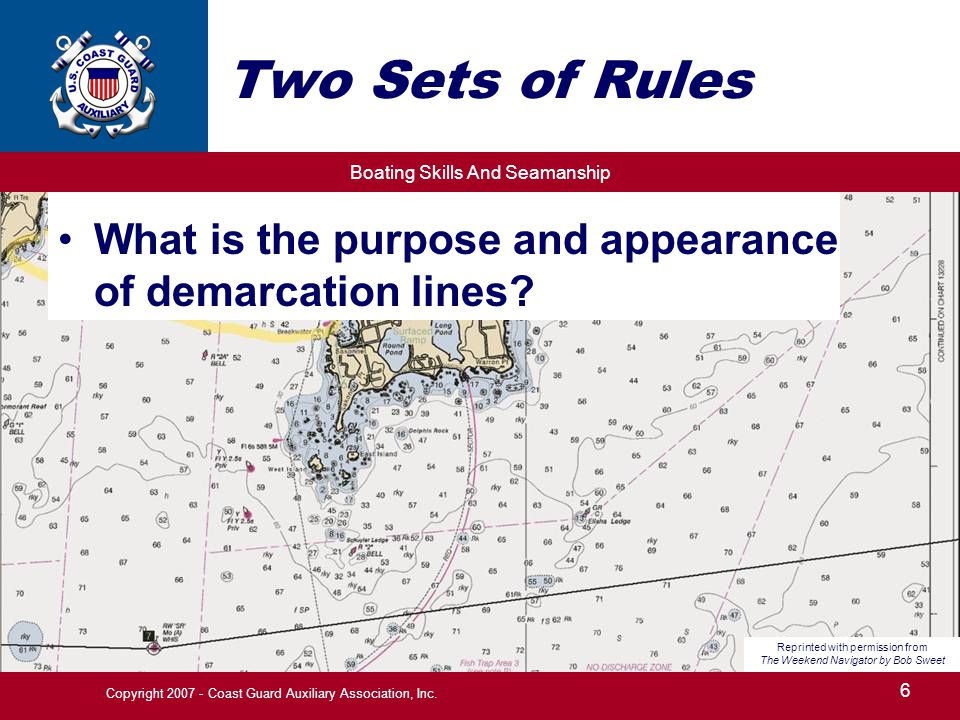 Two Sets of Rules What is the purpose and appearance of demarcation lines Reprinted with permission from.