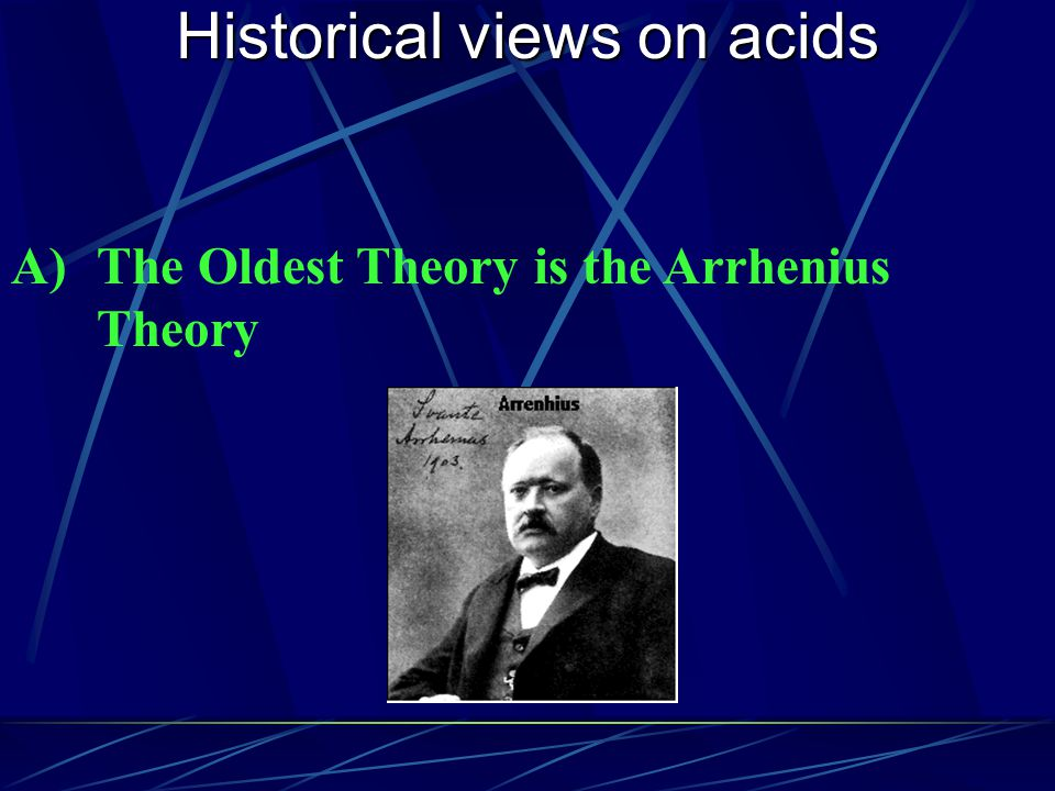 Historical views on acids