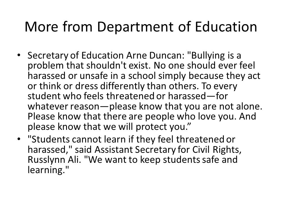 More from Department of Education