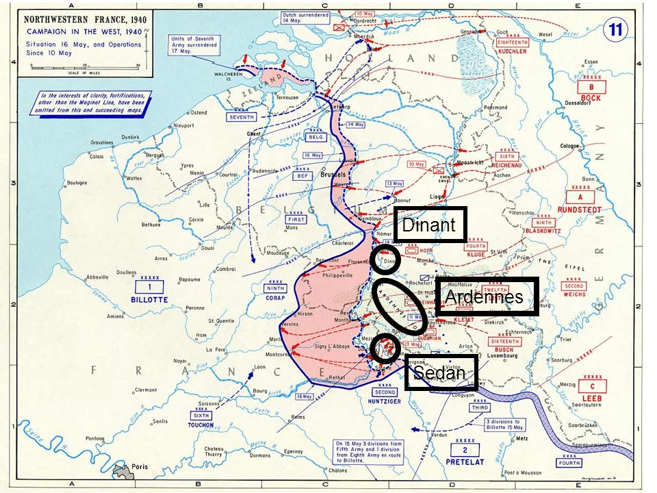 Sedan Dinant Ardennes