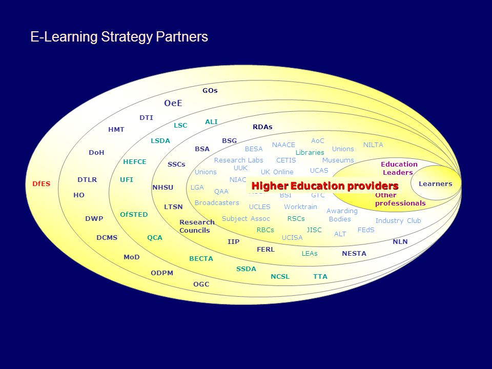 E-Learning Strategy Partners