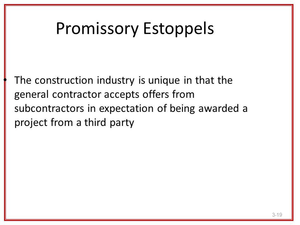 Promissory Estoppels