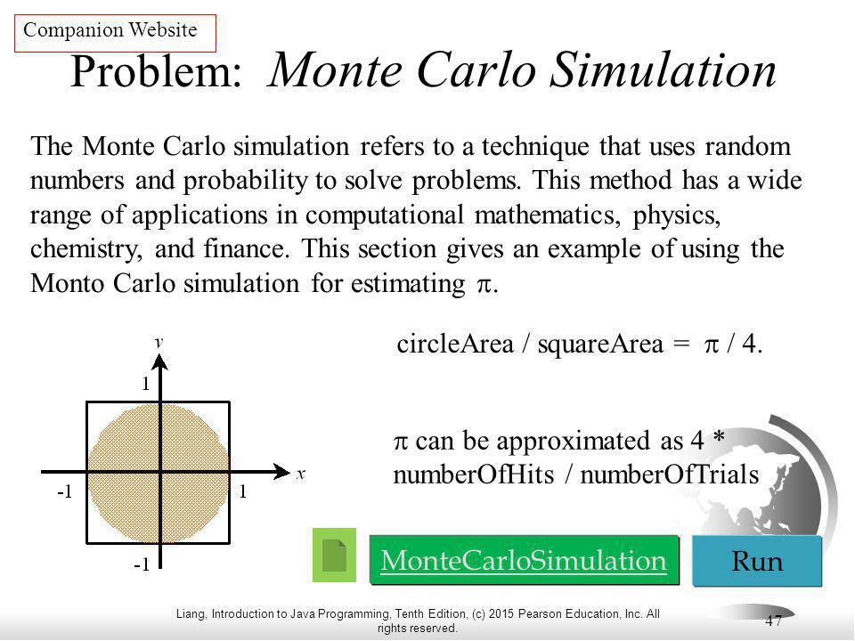 Problem: Monte Carlo Simulation