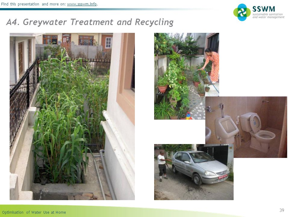 A4. Greywater Treatment and Recycling