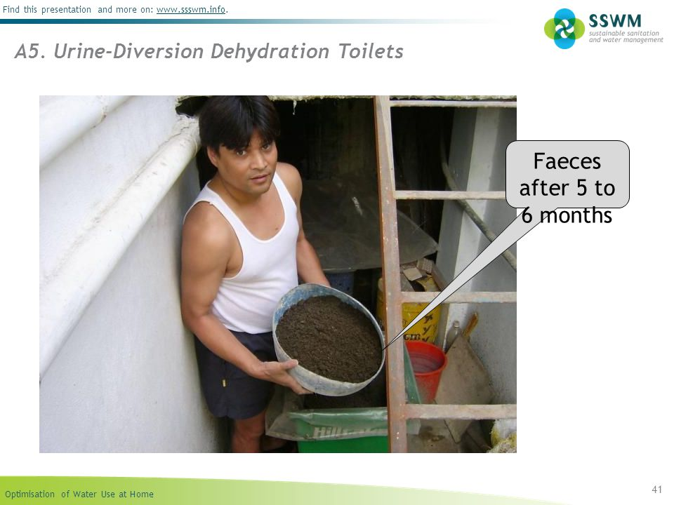 A5. Urine-Diversion Dehydration Toilets
